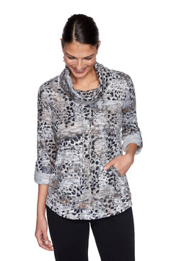Image: Animal Patchwork Pullover