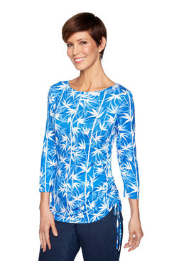 Image: Bamboo Shadows Print Top
