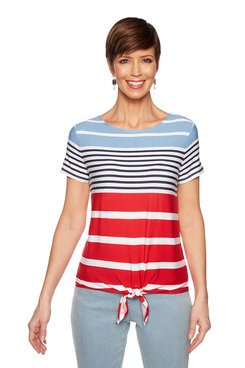 Image: Beach Stripe Top