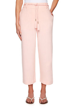Image: Belted Linen Pant