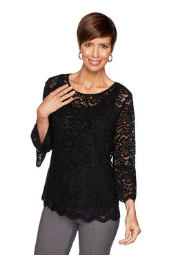 Image: Chenille Lace Top