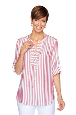 Image: Coastal Striped Top