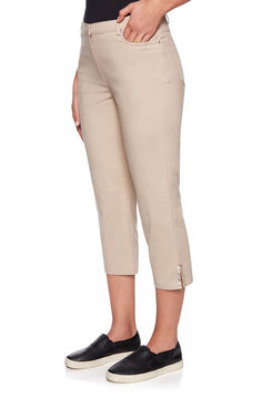 Image: Cotton Stretch Capri