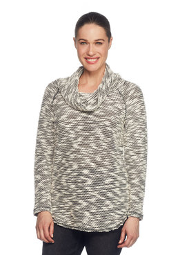 Image: Cowl-Neck Pullover