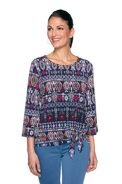 Image: Ikat Striped Top