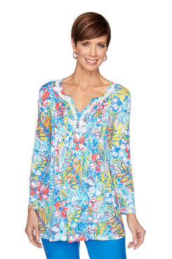 Image: Island Floral Top