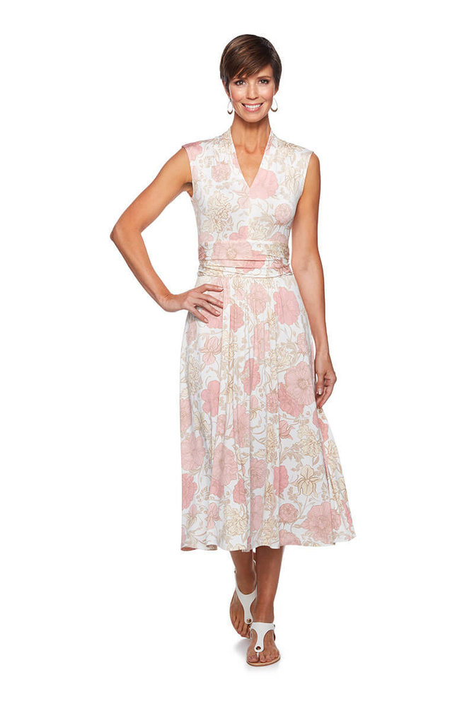 Jardin floral dress ruby rd for Jardin floral