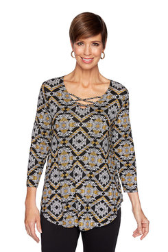 Image: Kaleidoscope Knit Top