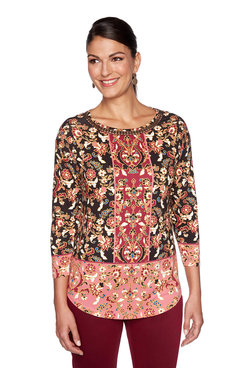 Image: Knit Filigree Top