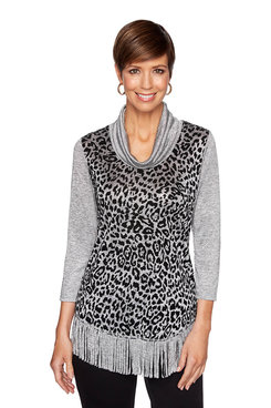 Image: Leopard Printed Sweater