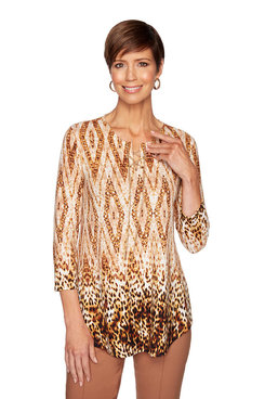 Image: Luxe Leopard Top