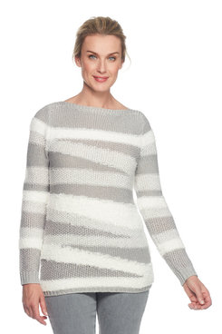 Image: Mixed Yarn Sweater