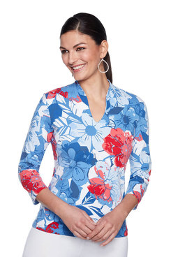 Image: Must Have Cubist Floral Top