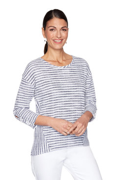 Image: Nautical Striped Pullover