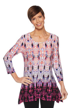 Image: Ombre Ikat Top