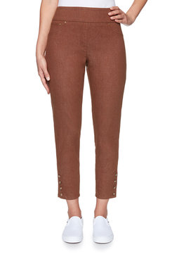 Image: Petite Chestnut Colored Denim Pant
