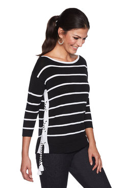 Image: Petite Coast Laced Top