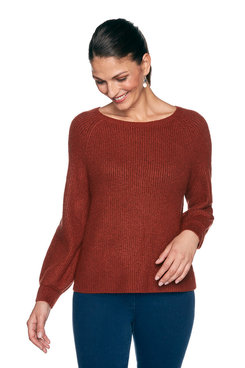 Image: Petite Cozy Solid Sweater