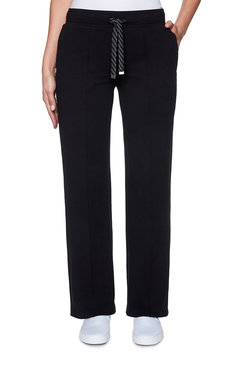 Image: Petite Flared French Terry Pant