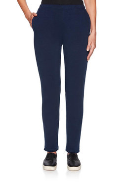Image: Petite French Terry Pants