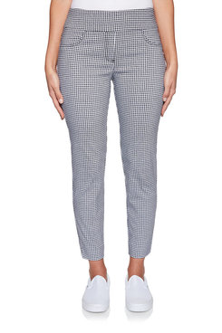 Image: Petite Gingham Ankle Pant