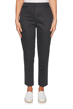 Image: Petite Graphic Dot Stretch Pant