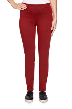 Image: Petite Knitted Twill Pant