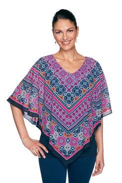 Image: Petite Medallion Butterfly Top