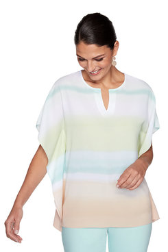 Image: Petite Ombre Striped Top