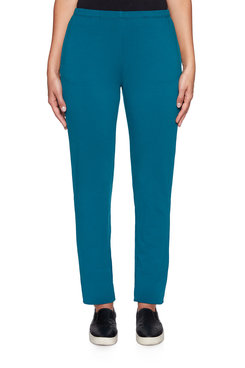 Image: Petite Stretchy French Terry Pant