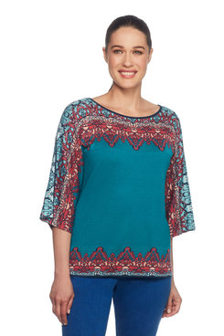 Petite Tapestry Pullover