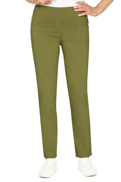 Image: Petite Women's Stretchy Pull-On Pant