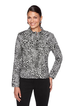 Image: Plus Animal Spots Jacket