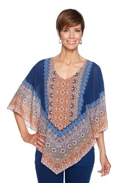 Image: Plus Butterfly Tapestry Top