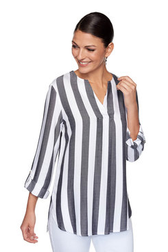 Image: Plus Cabana Striped Top