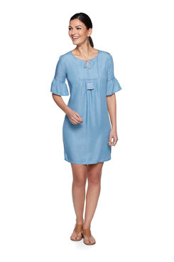 Image: Plus Denim Dress