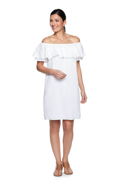 Image: Plus Double Gauze Dress