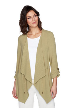 Image: Plus Drawstring Cardigan
