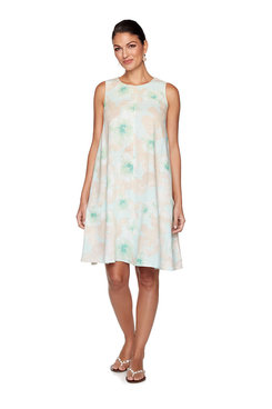 Image: Plus Floral Breeze Dress