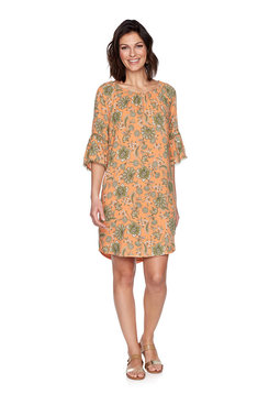Image: Plus Floral Vine Dress