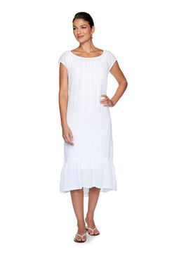 Image: Plus Gauze Dress