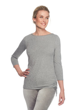 Image: Plus Glitter Knit Top