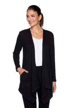 Image: Plus Heather Knit Cardigan