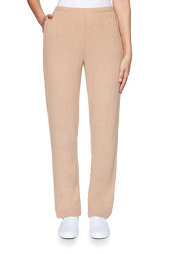 Image: Plus Heather Knit Pant
