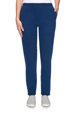 Image: Plus Indigo French Terry Pant