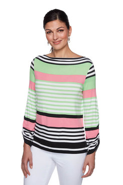 Image: Plus Island Stripe Top