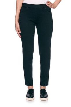 Image: Plus Knitted Twill Pant