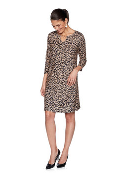 Image: Plus Leopard Sweater Dress