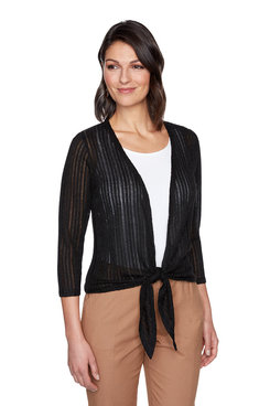 Image: Plus Metallic Knit Cardigan