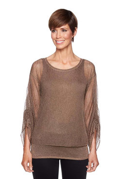 Image: Plus Multi Shine Sweater